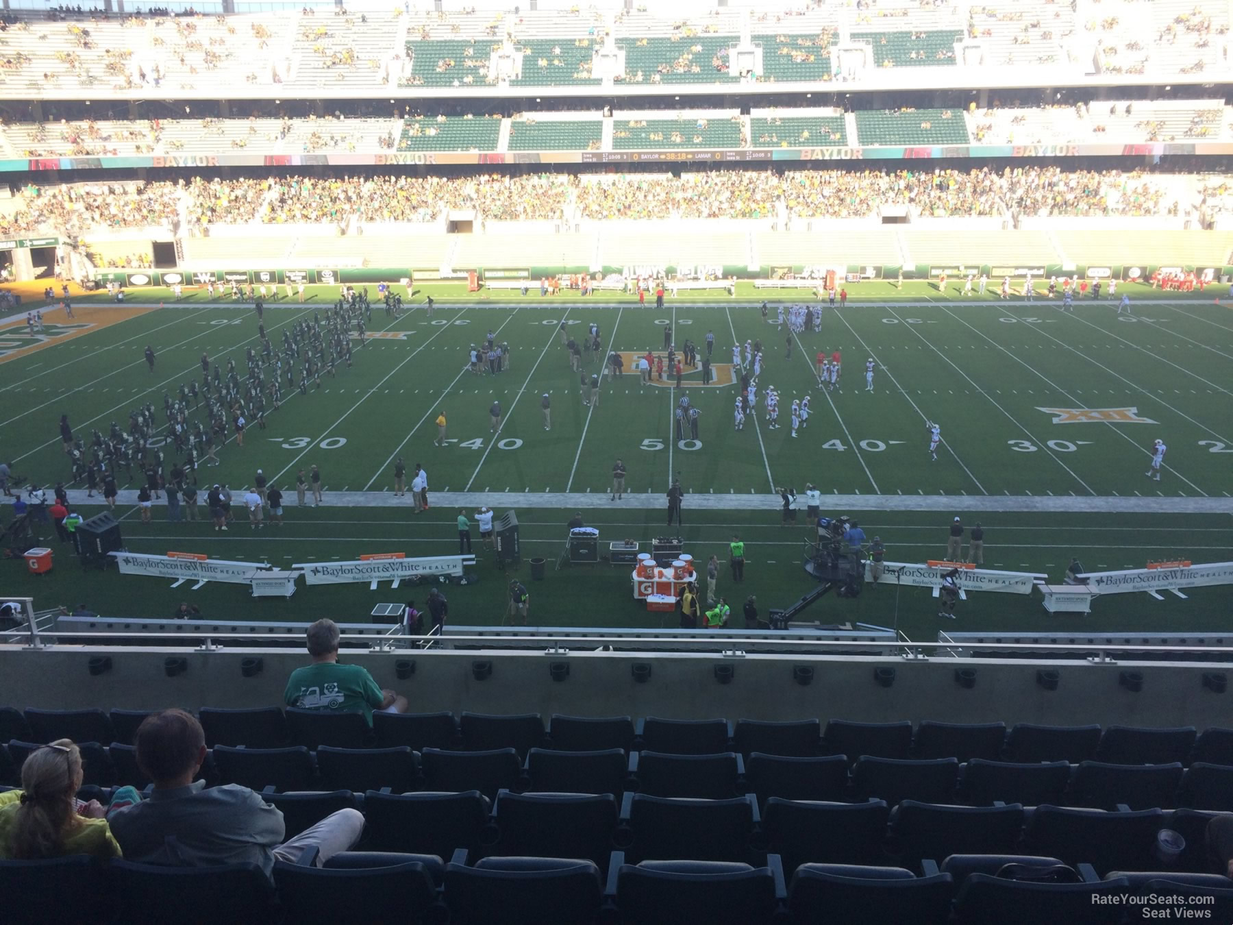 Seat View for McLane Stadium Section C5, Row 8