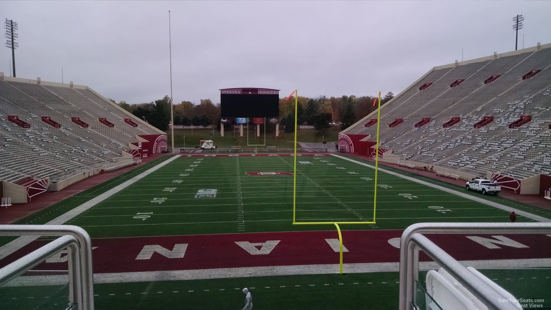 Seat View for Memorial Stadium - IN Section 17, Row 28