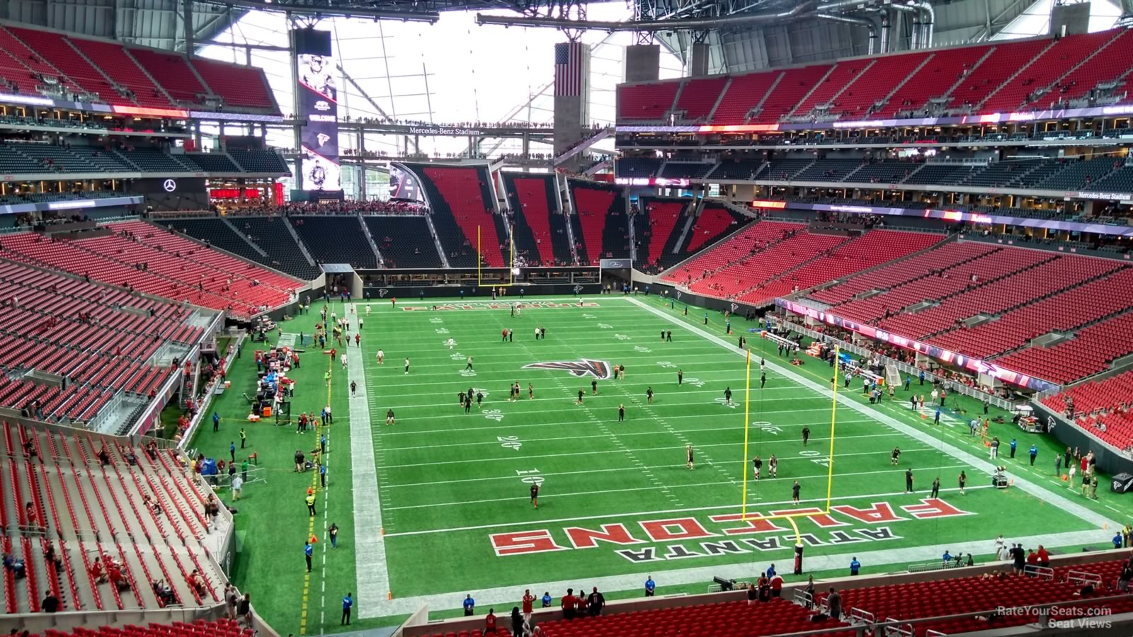 Mercedes Benz Stadium Section 226 Atlanta Falcons