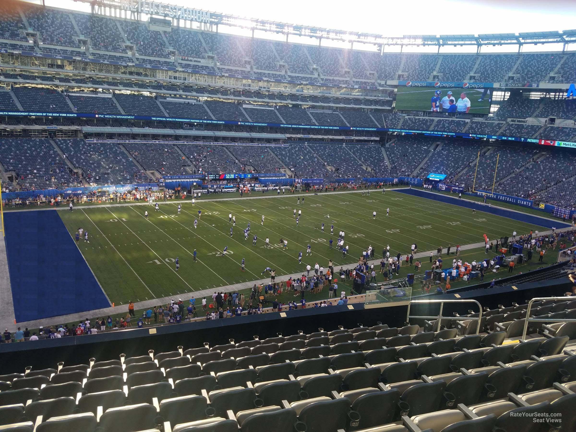 super popular c9707 f8d50 MetLife Stadium Section 218 - Giants/Jets - RateYourSeats.com