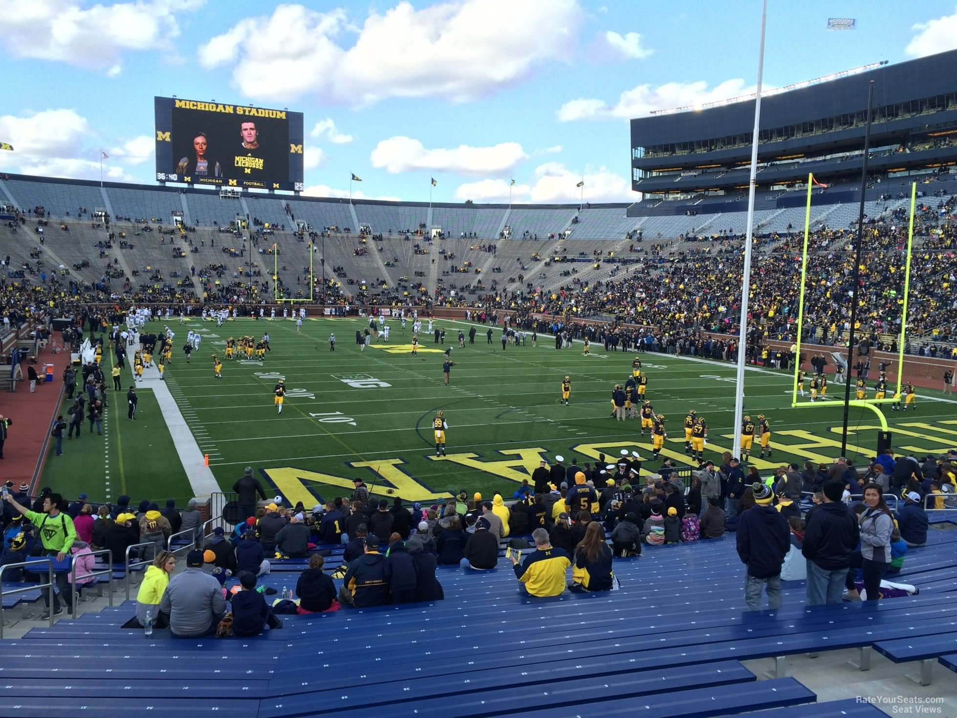Seat View for Michigan Stadium Section 15R, Row 30