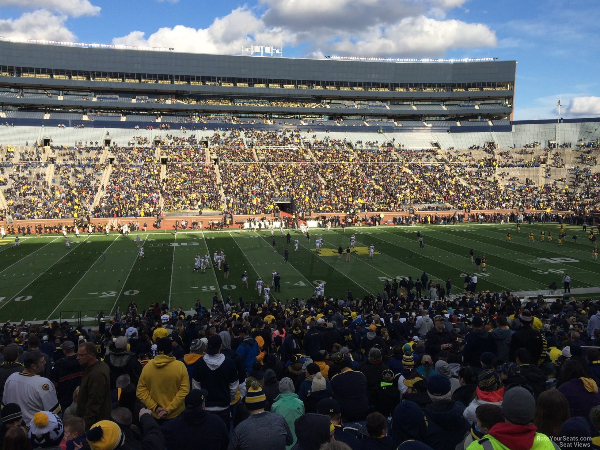 Seat View for Michigan Stadium Section 24, Row 50, Seat 25