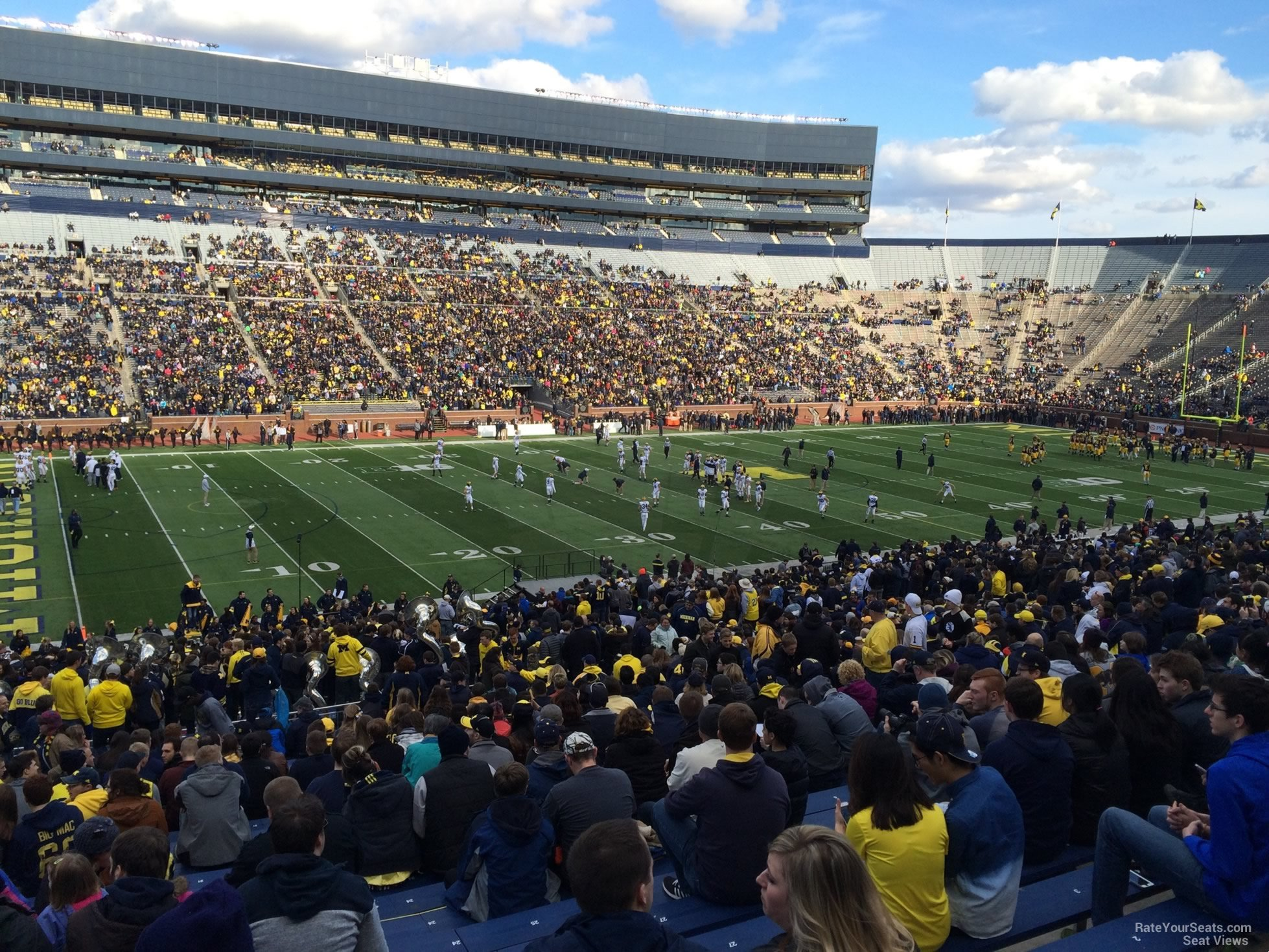 Seat View for Michigan Stadium Section 26, Row 50