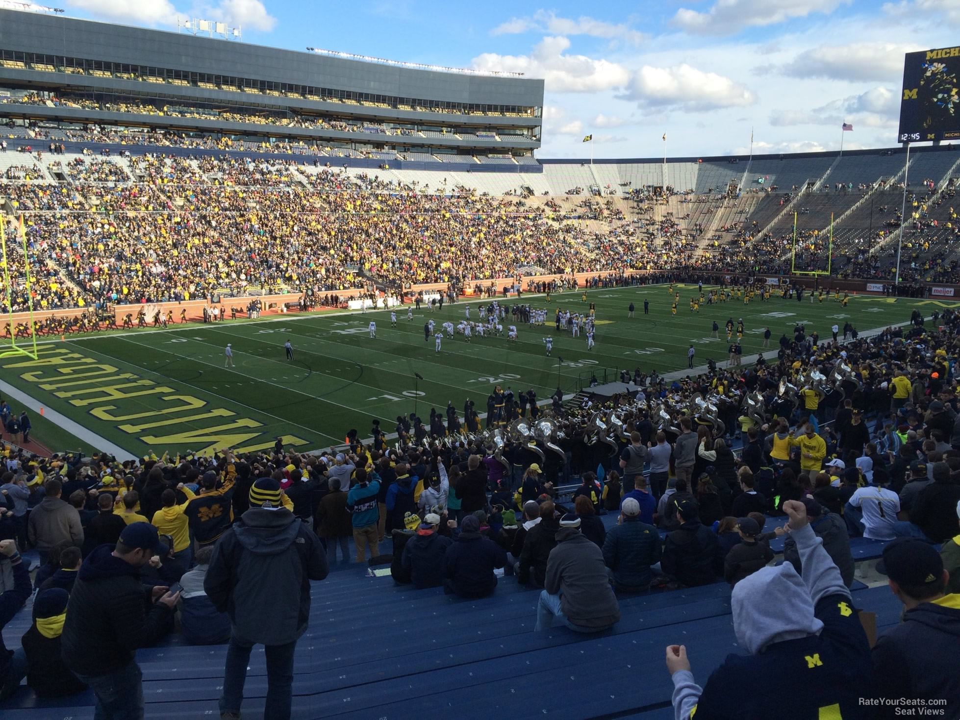 Seat View for Michigan Stadium Section 28, Row 50