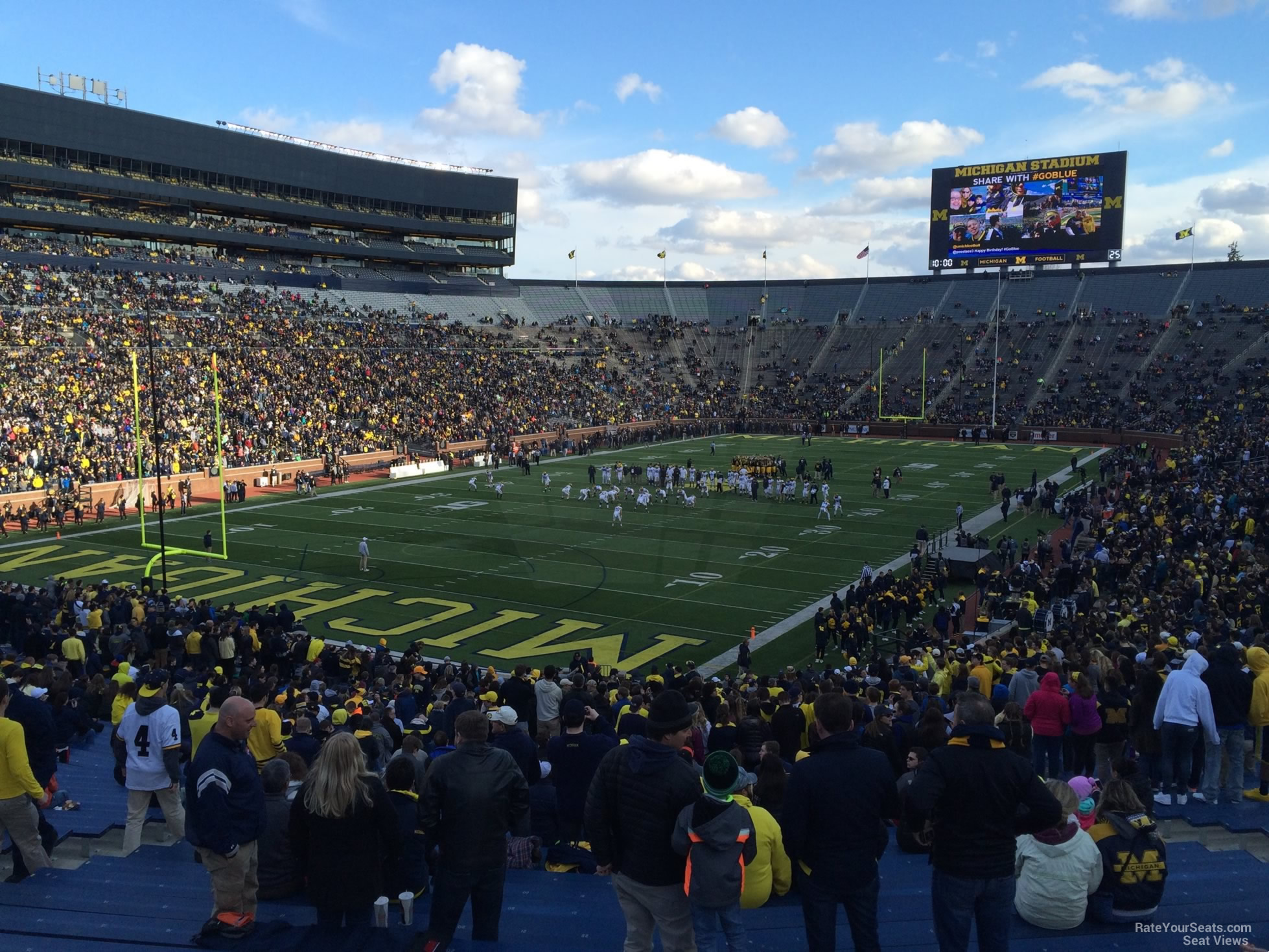 Seat View for Michigan Stadium Section 30, Row 50