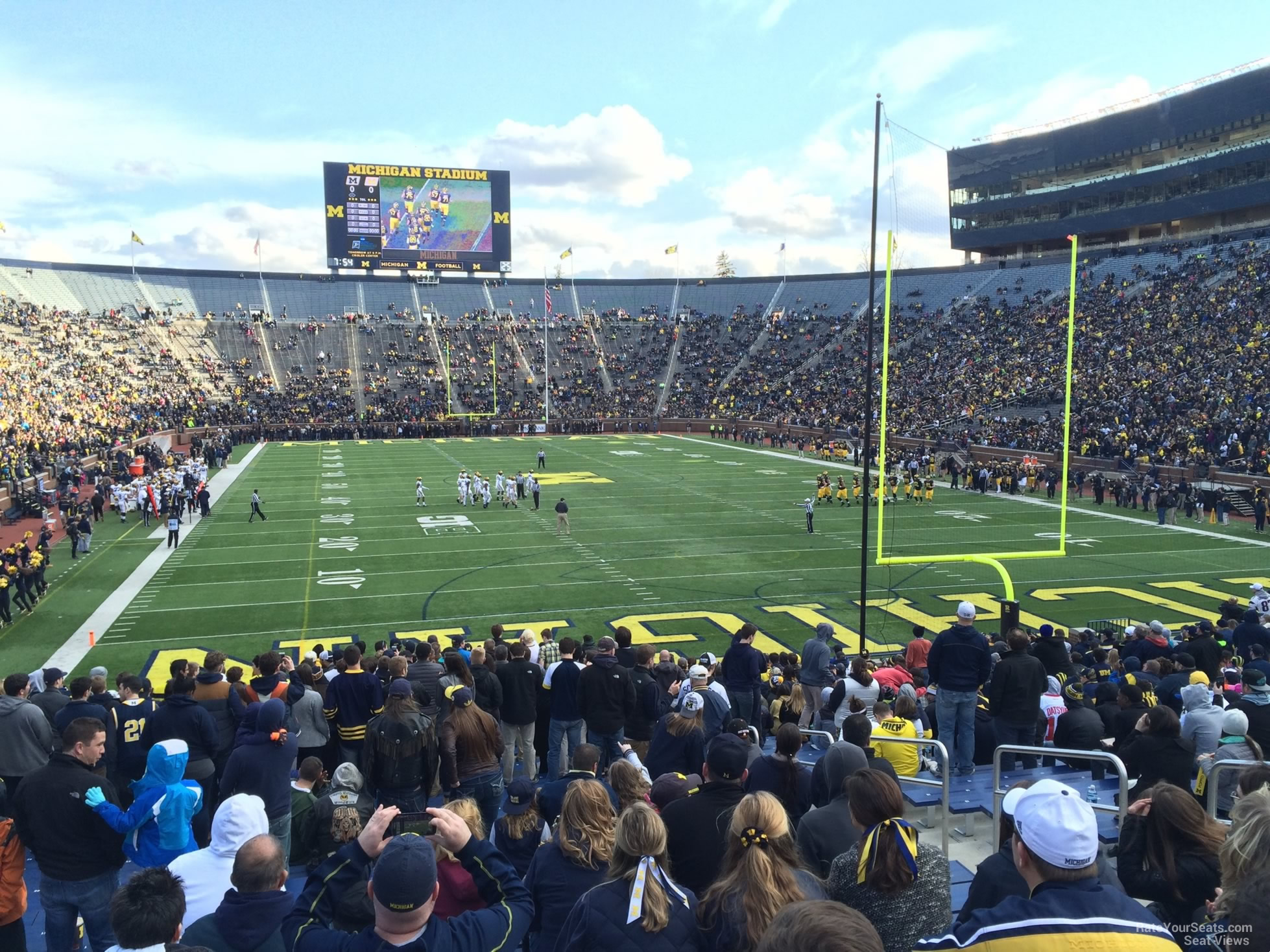 Seat View for Michigan Stadium Section 35R, Row 30