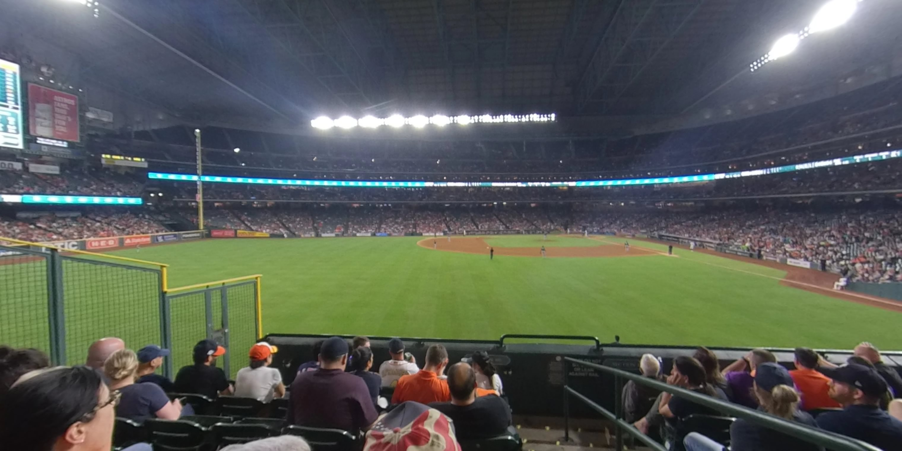 360° Photo From Minute Maid Park Section 101