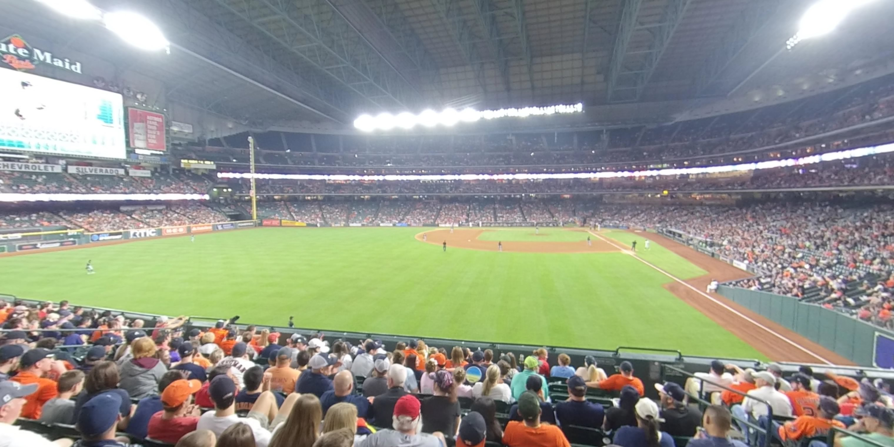 360° Photo From Minute Maid Park Section 102