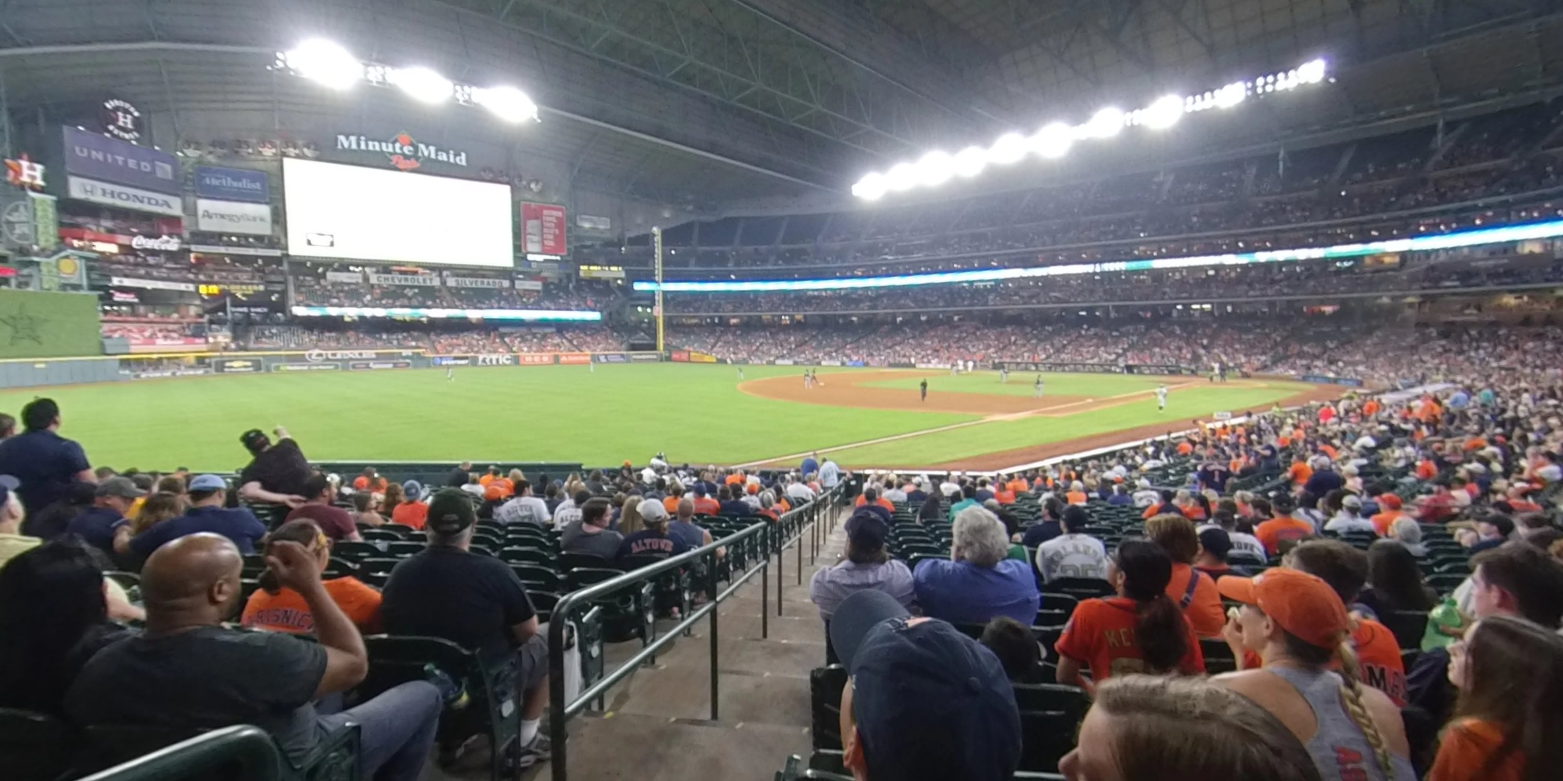 Minute Maid Park Section 106 Houston Astros Rateyourseatscom