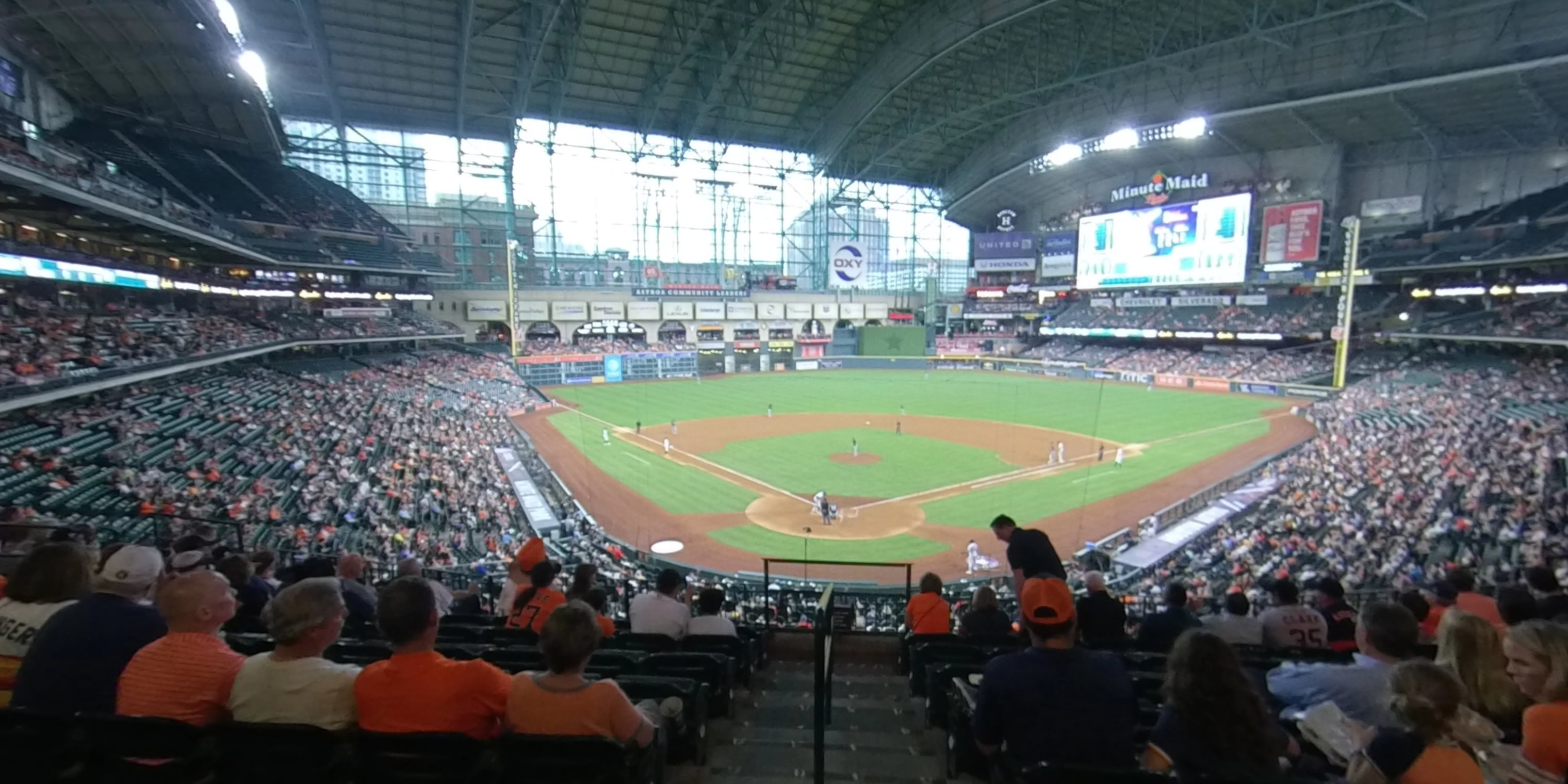 360° Photo From Minute Maid Park Section 220