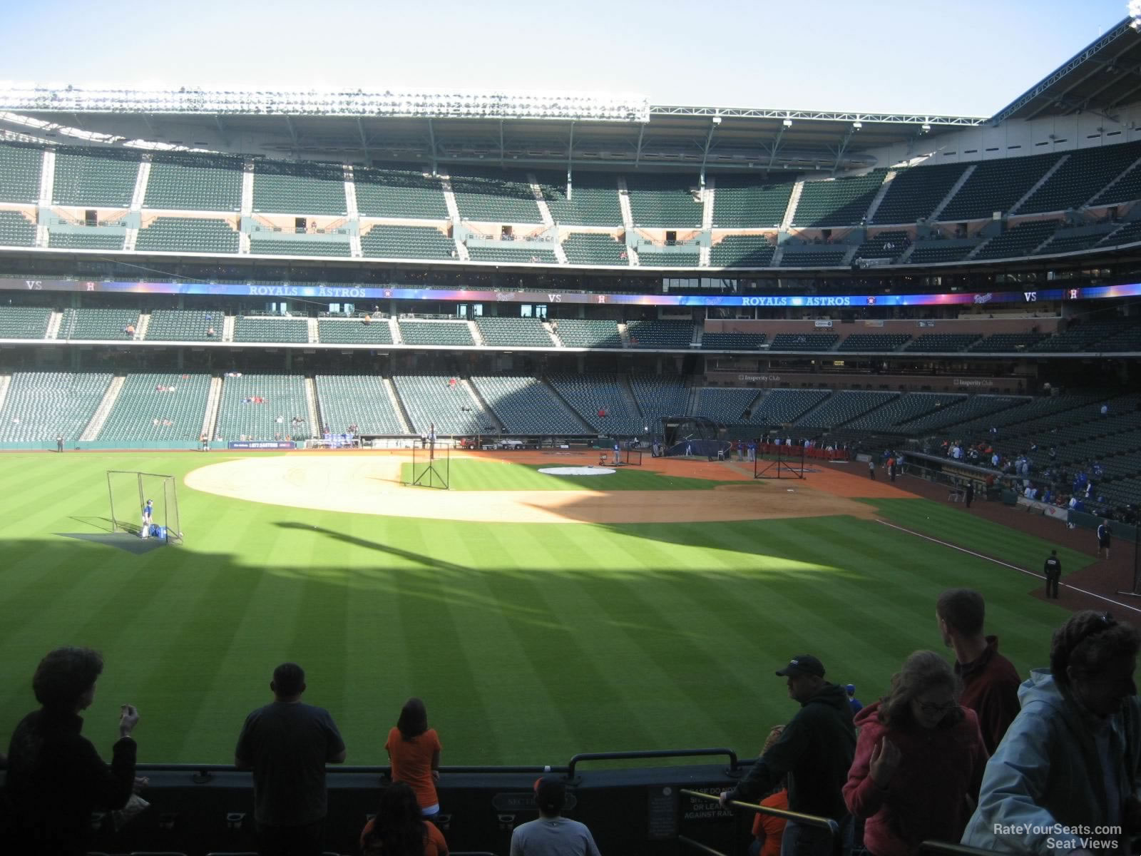 Seat View for Minute Maid Park Section 101