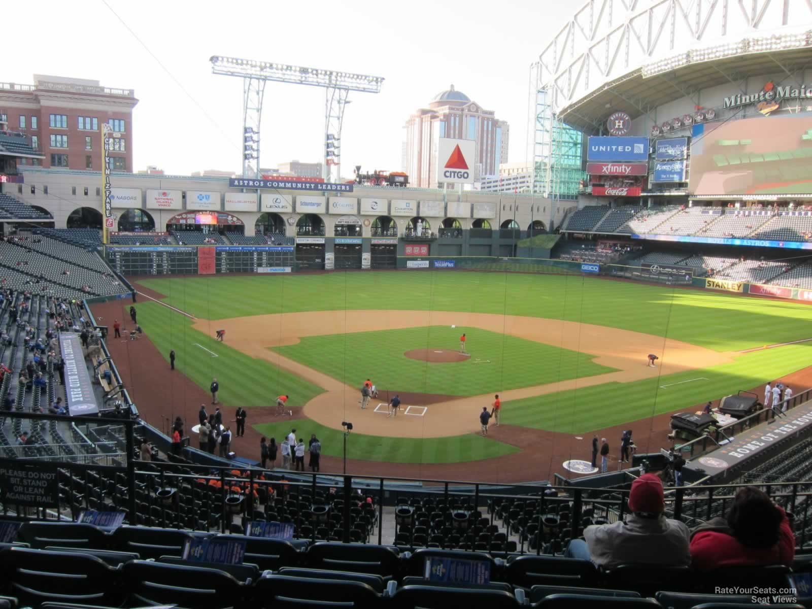 Seat View for Minute Maid Park Section 220, Row 6