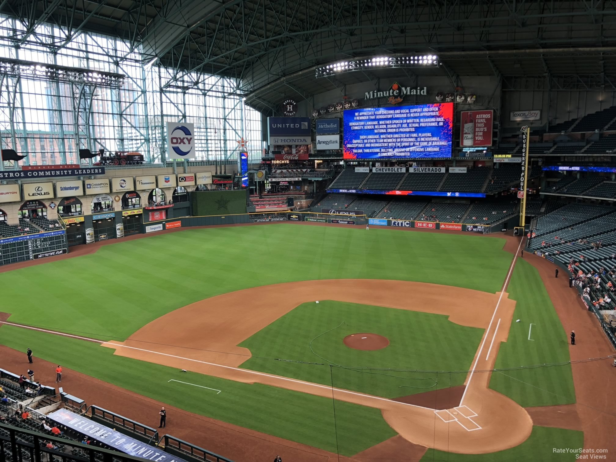 Minute Maid Park Section 316 Houston Astros Rateyourseatscom