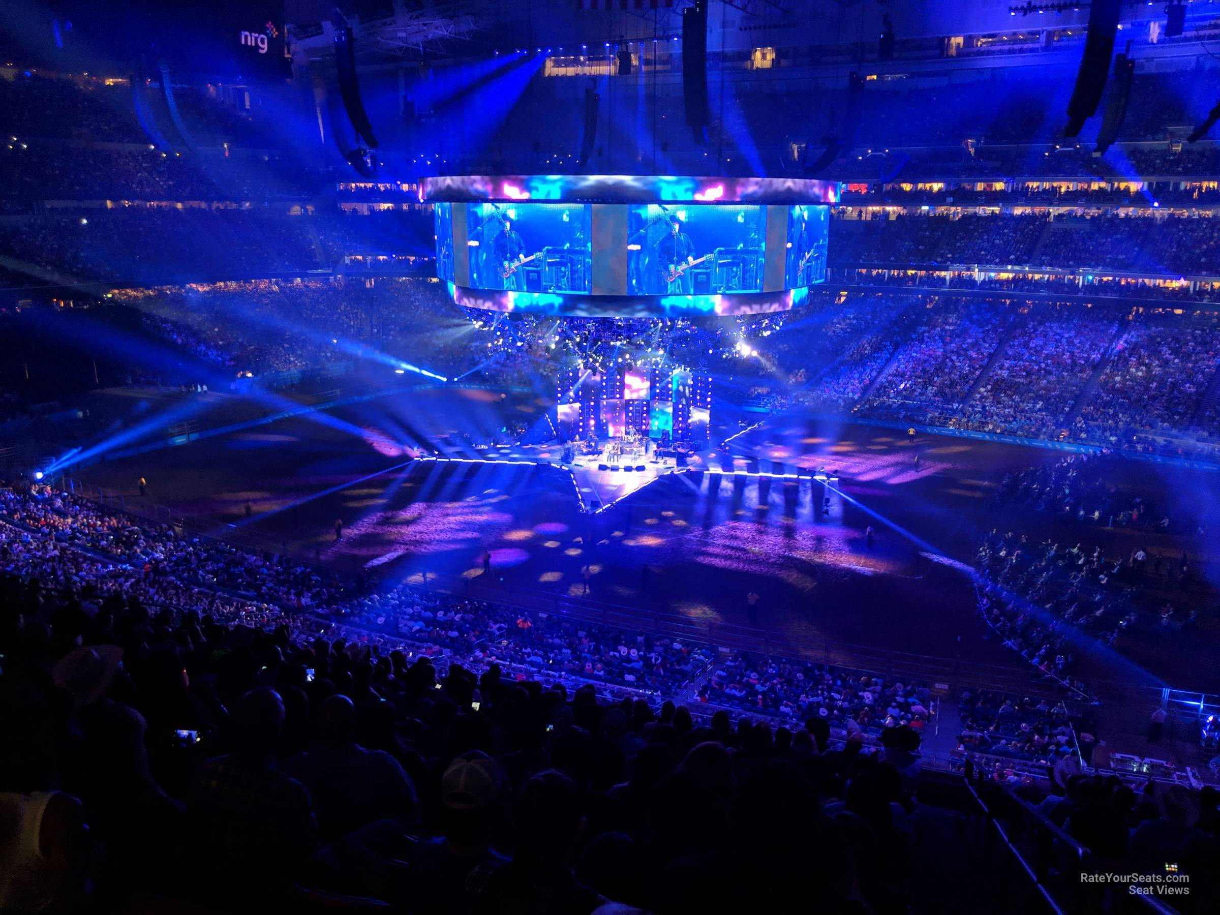 Concert Seat View for NRG Stadium Section 334, Row V