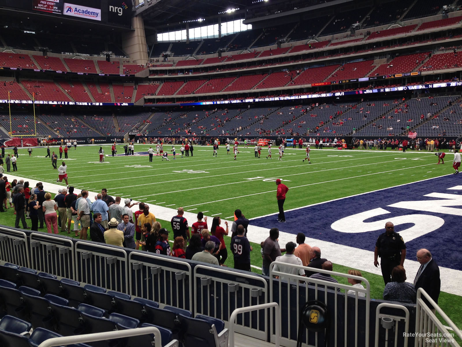 Houston Texans Seat View for NRG Stadium Section 101, Row C