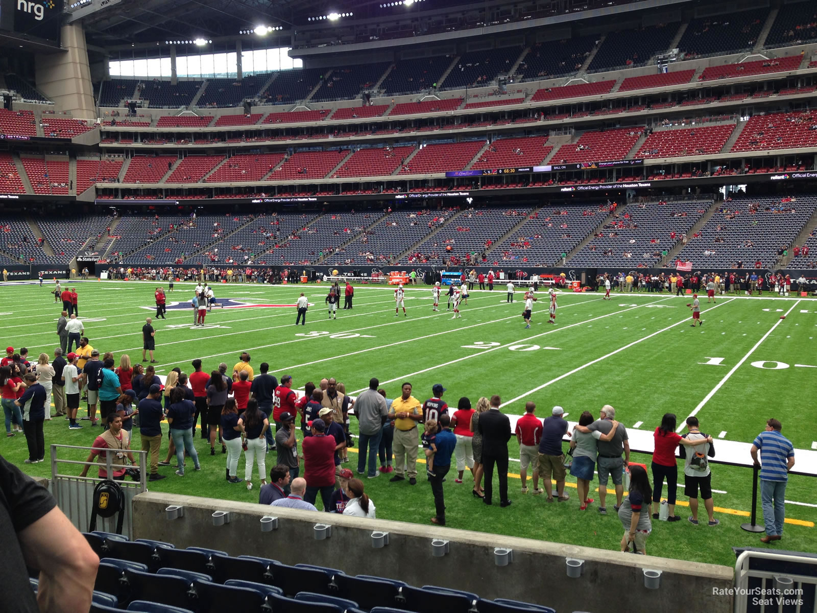 Houston Texans Seat View for NRG Stadium Section 103, Row C