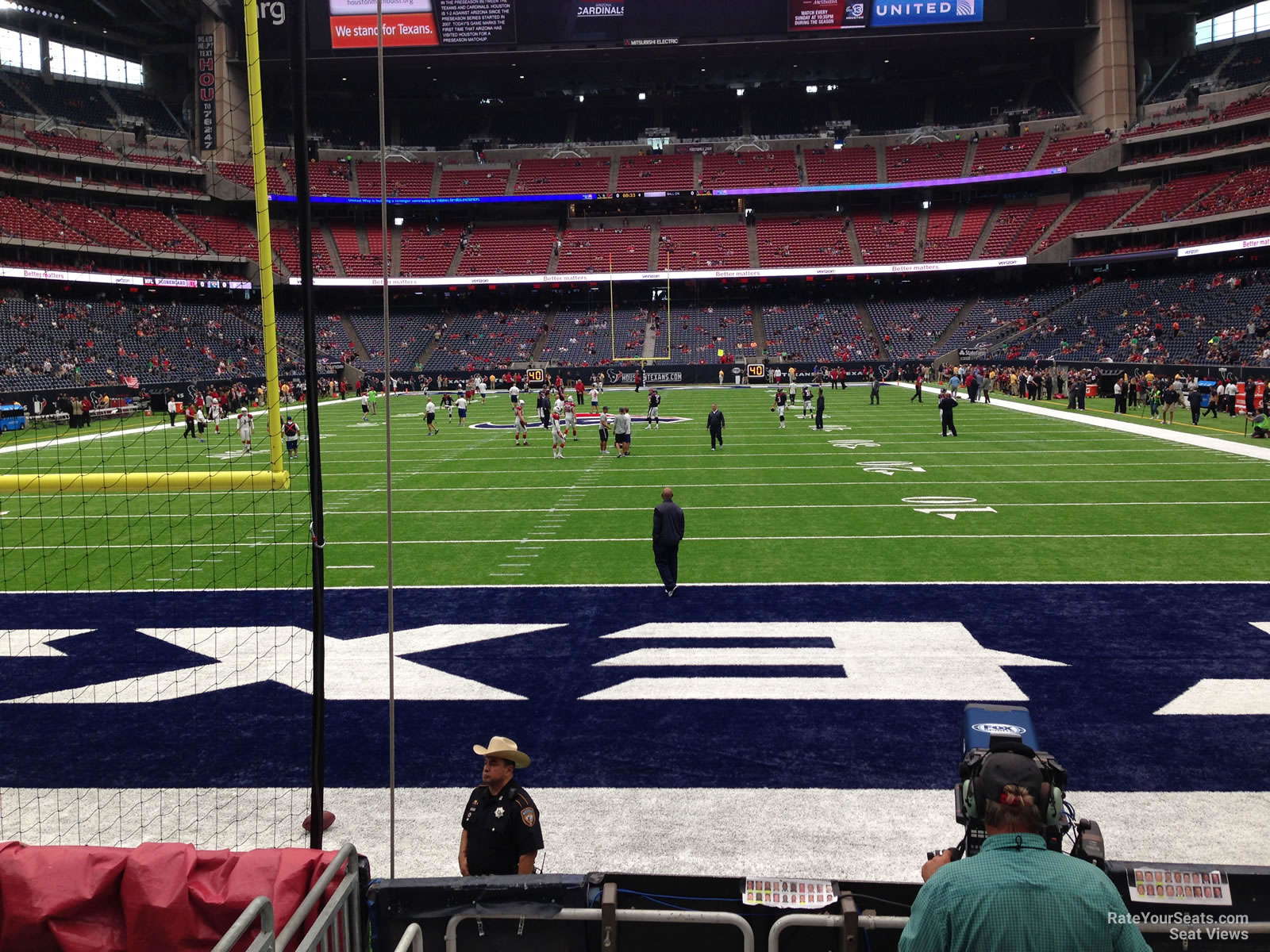 Houston Texans Seat View for NRG Stadium Section 116, Row C