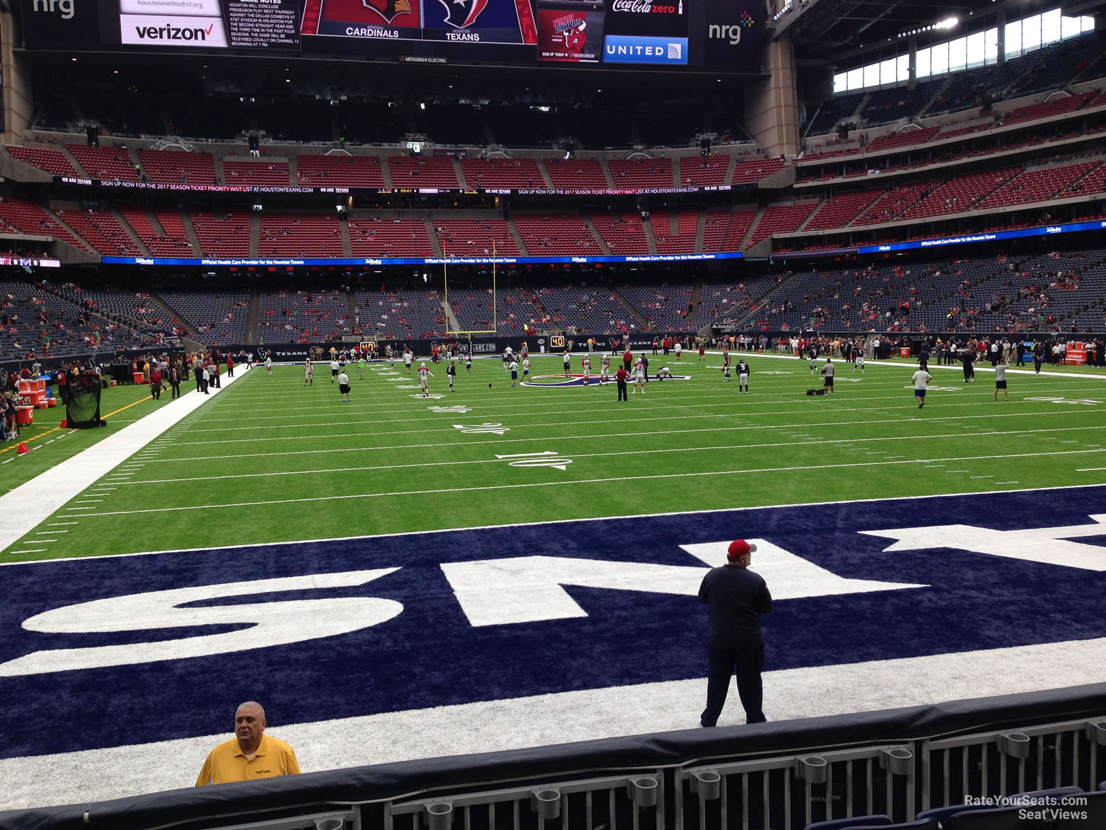 Houston Texans Seat View for NRG Stadium Section 118, Row C
