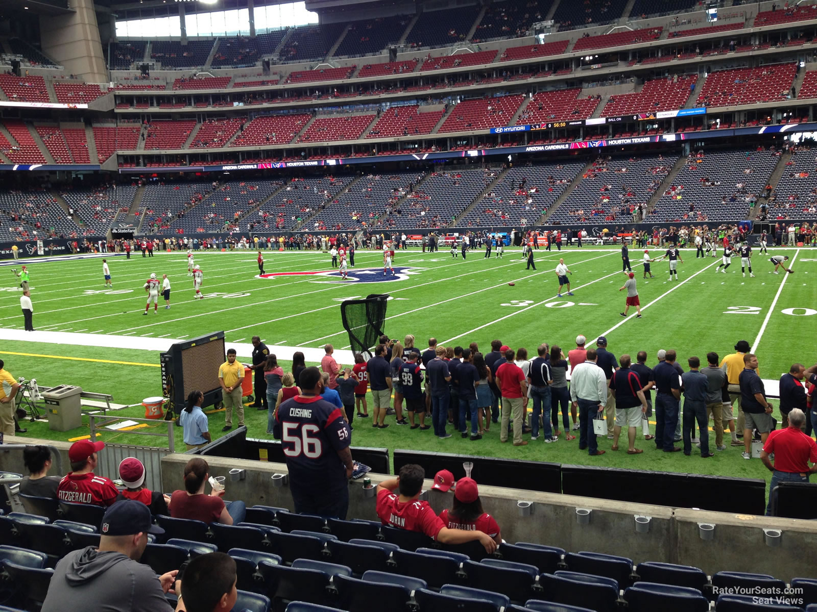 Houston Texans Seat View for NRG Stadium Section 124, Row C