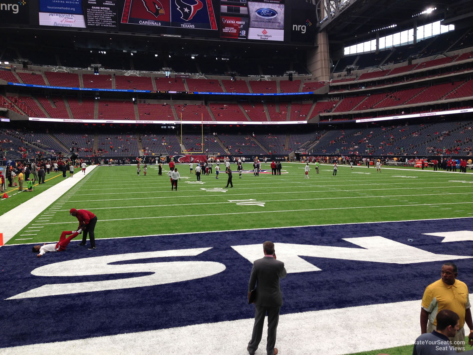Houston Texans Seat View for NRG Stadium Section 138, Row C