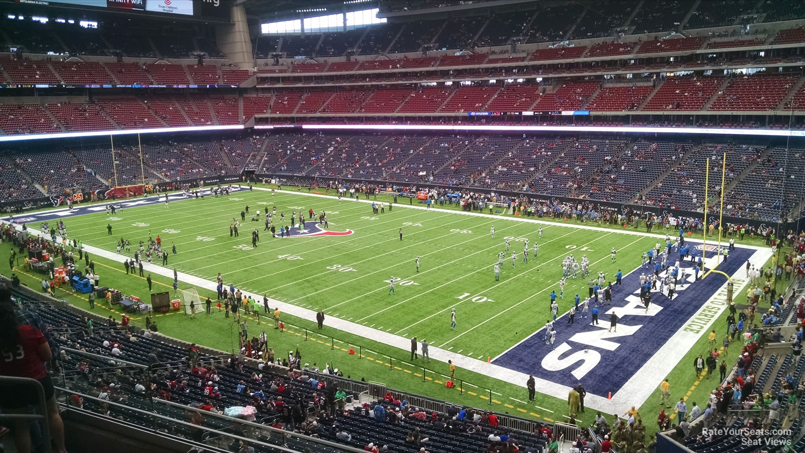 Houston Texans Seat View for NRG Stadium Section 304, Row L