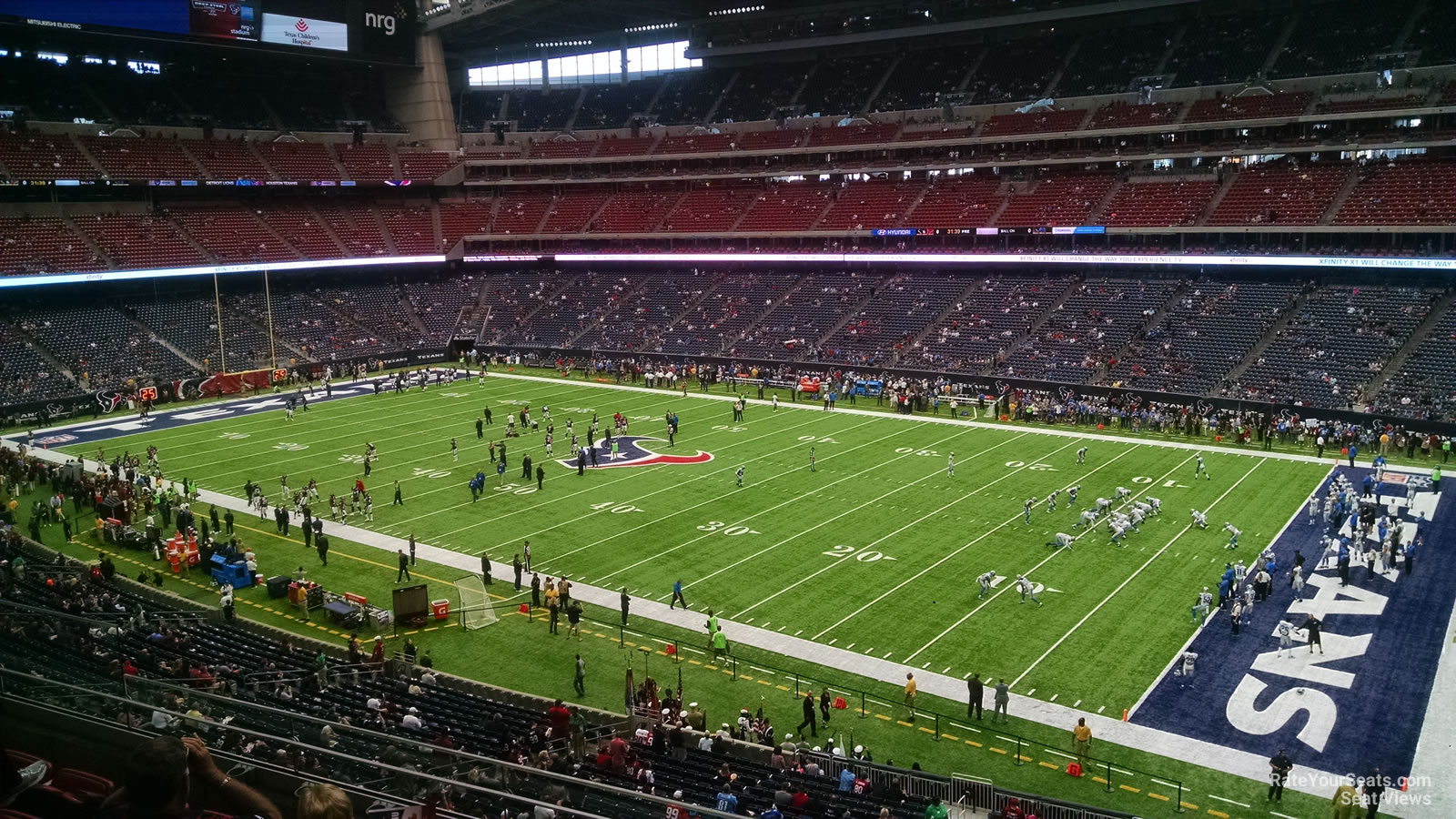 Houston Texans Seat View for NRG Stadium Section 305, Row L