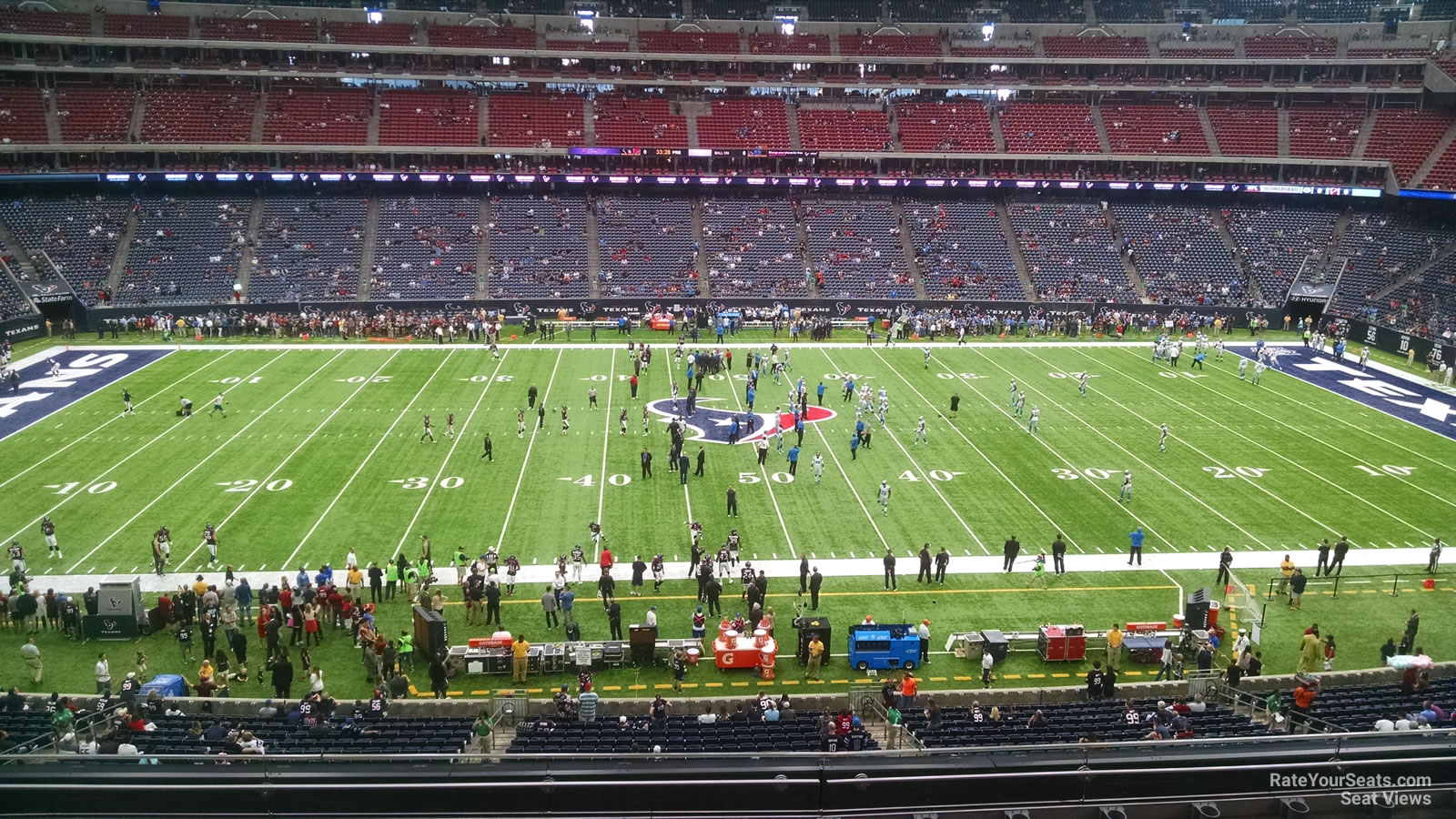 Houston Texans Seat View for NRG Stadium Section 310, Row L