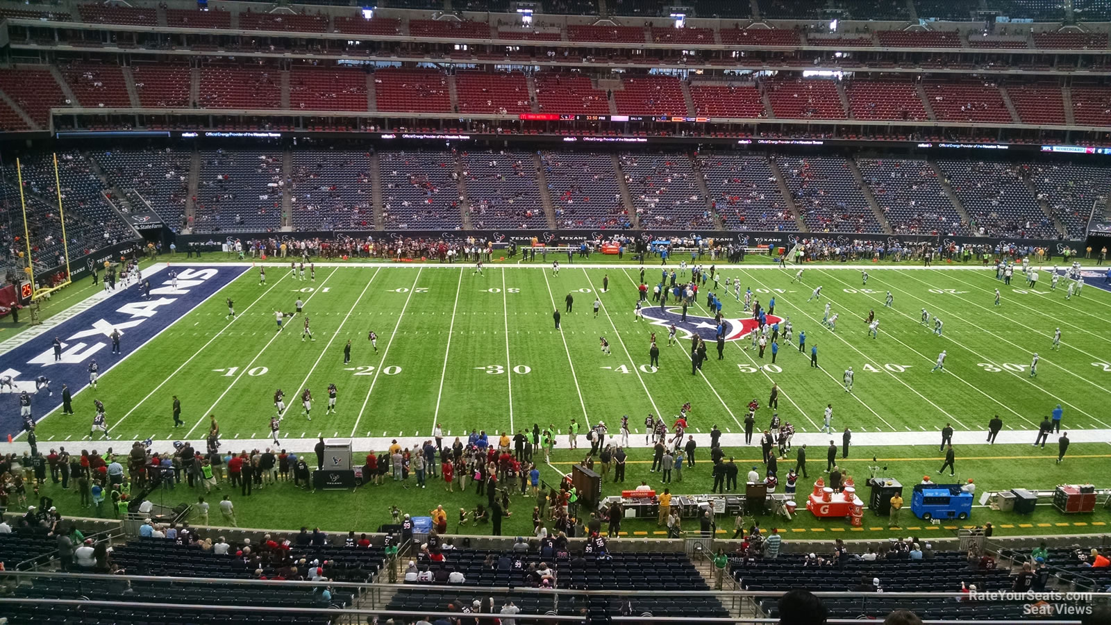 Houston Texans Seat View for NRG Stadium Section 311, Row L