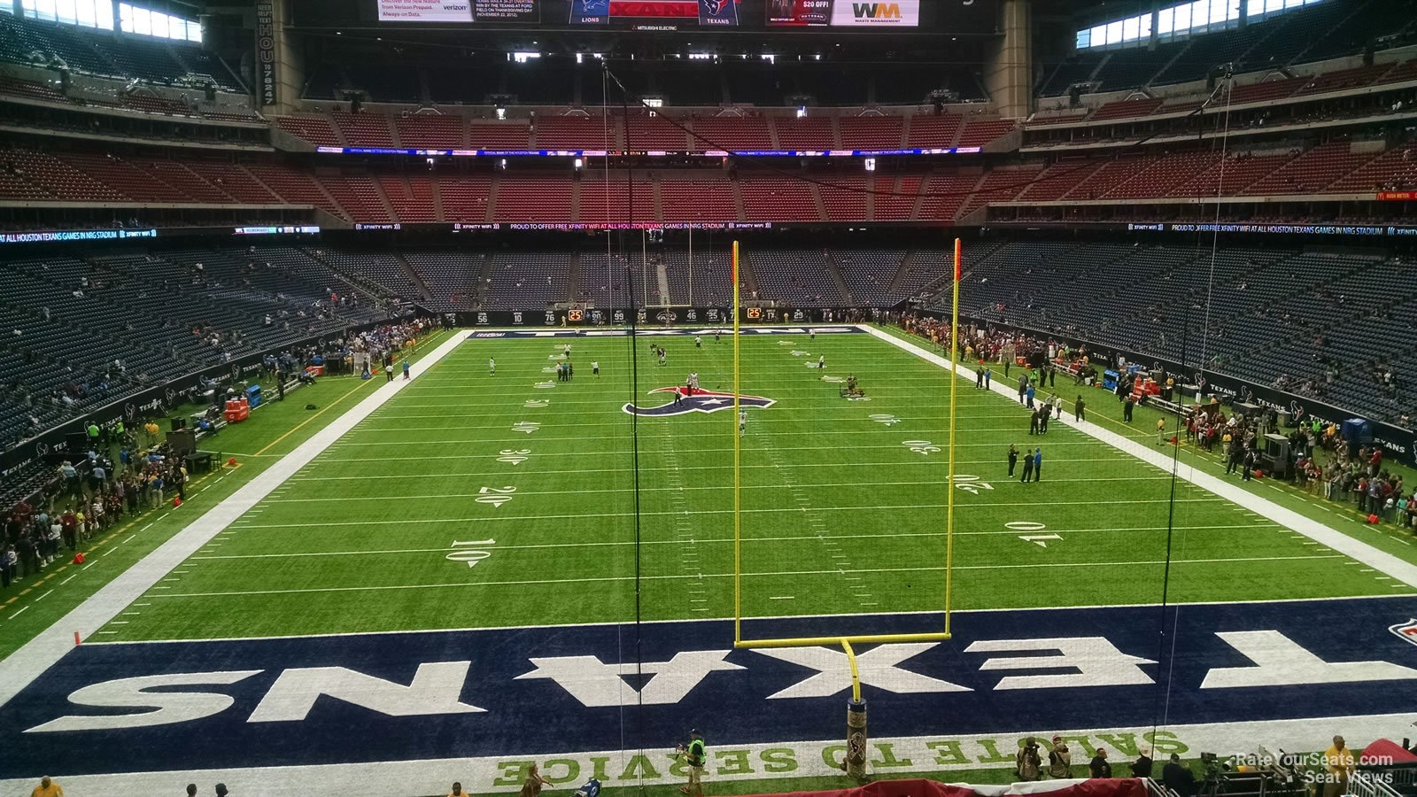 Houston Texans Seat View for NRG Stadium Section 324, Row A