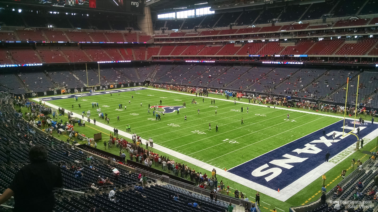 Houston Texans Seat View for NRG Stadium Section 331, Row L