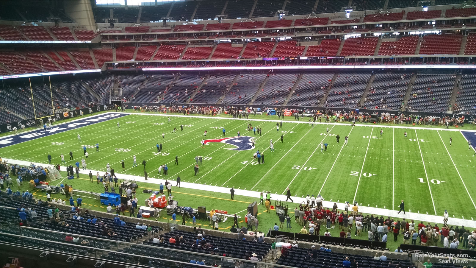 Houston Texans Seat View for NRG Stadium Section 335, Row L