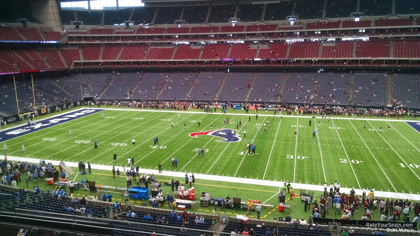 Houston Texans Seat View for NRG Stadium Section 336, Row L
