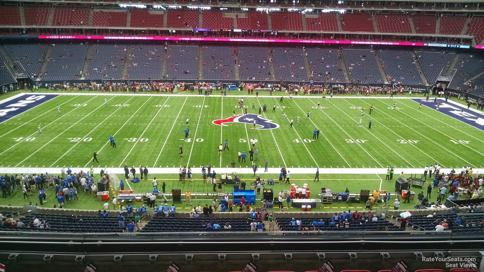 Houston Texans Seat View for NRG Stadium Section 338, Row L