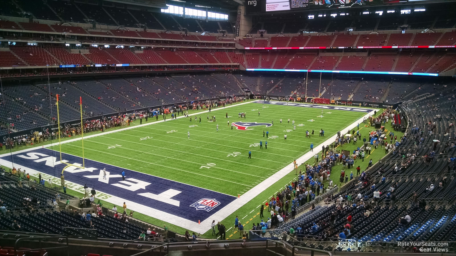 Houston Texans Seat View for NRG Stadium Section 346, Row L
