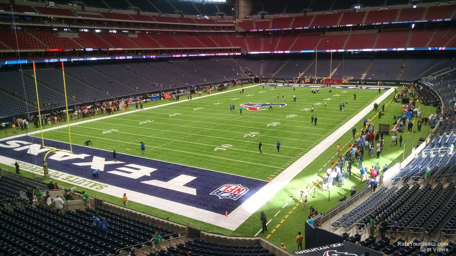 Houston Texans Seat View for NRG Stadium Section 347, Row A