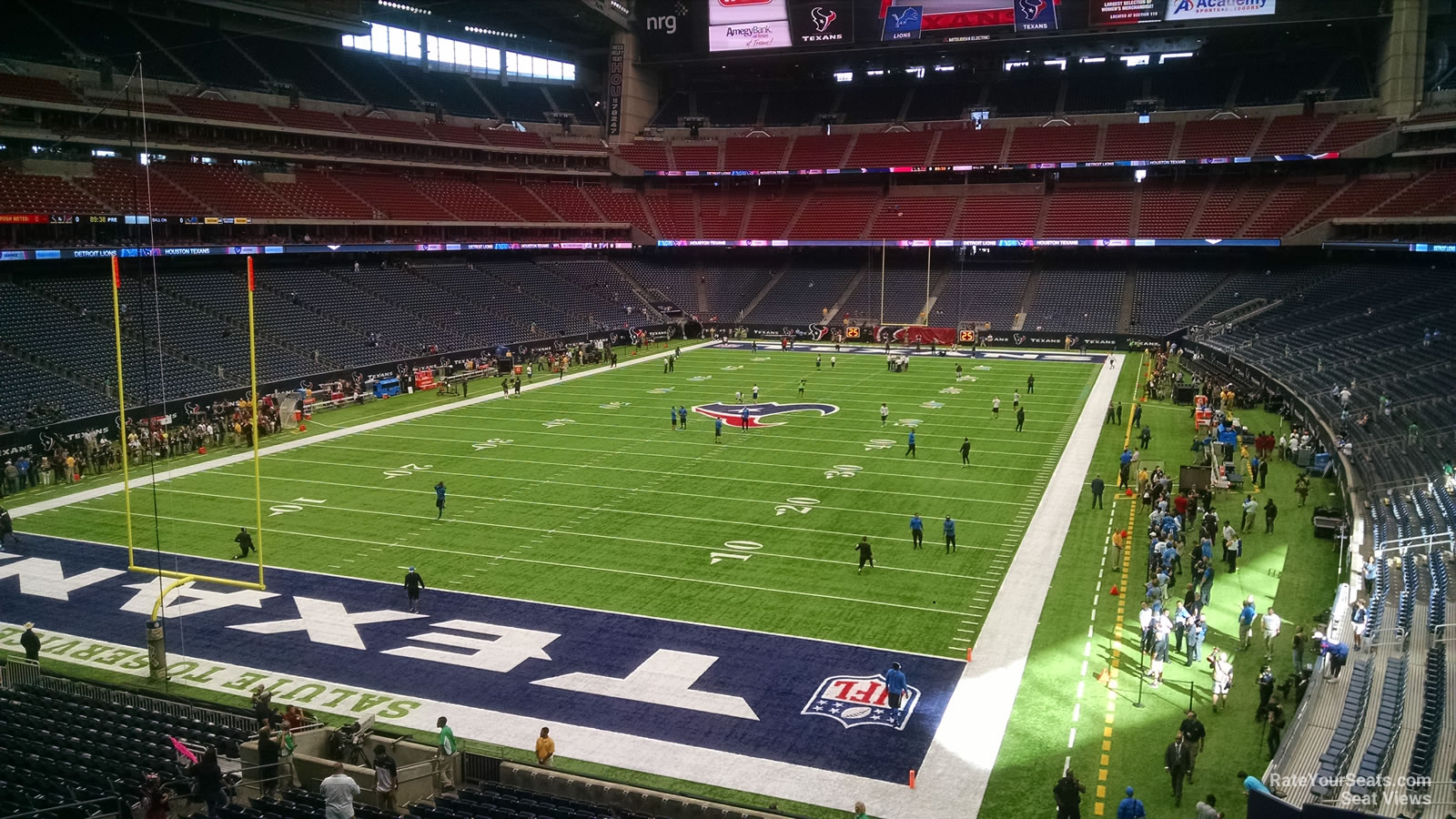 Houston Texans Seat View for NRG Stadium Section 349, Row A
