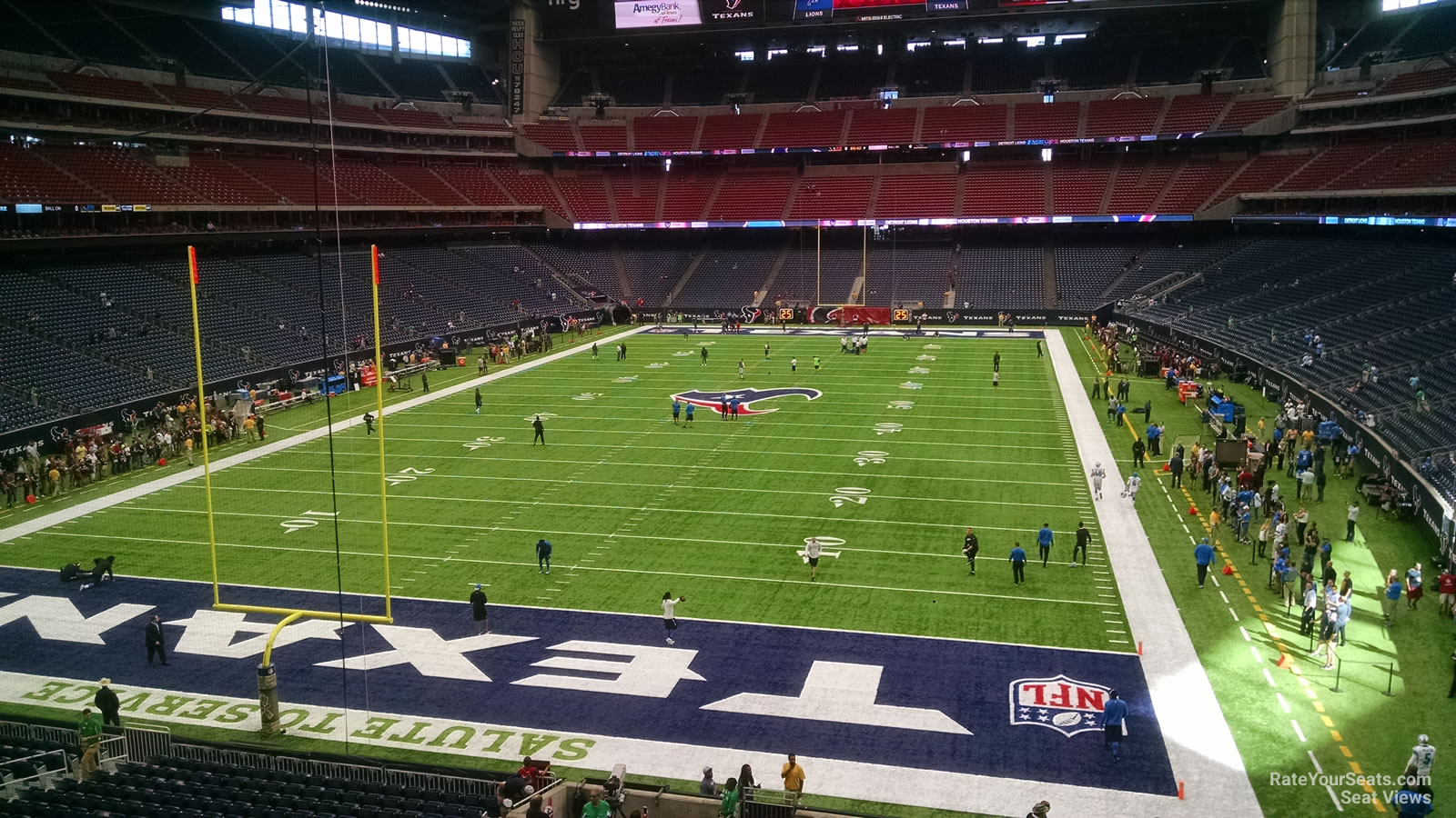 Houston Texans Seat View for NRG Stadium Section 350, Row A