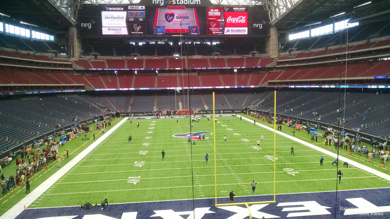 Houston Texans Seat View for NRG Stadium Section 352, Row A