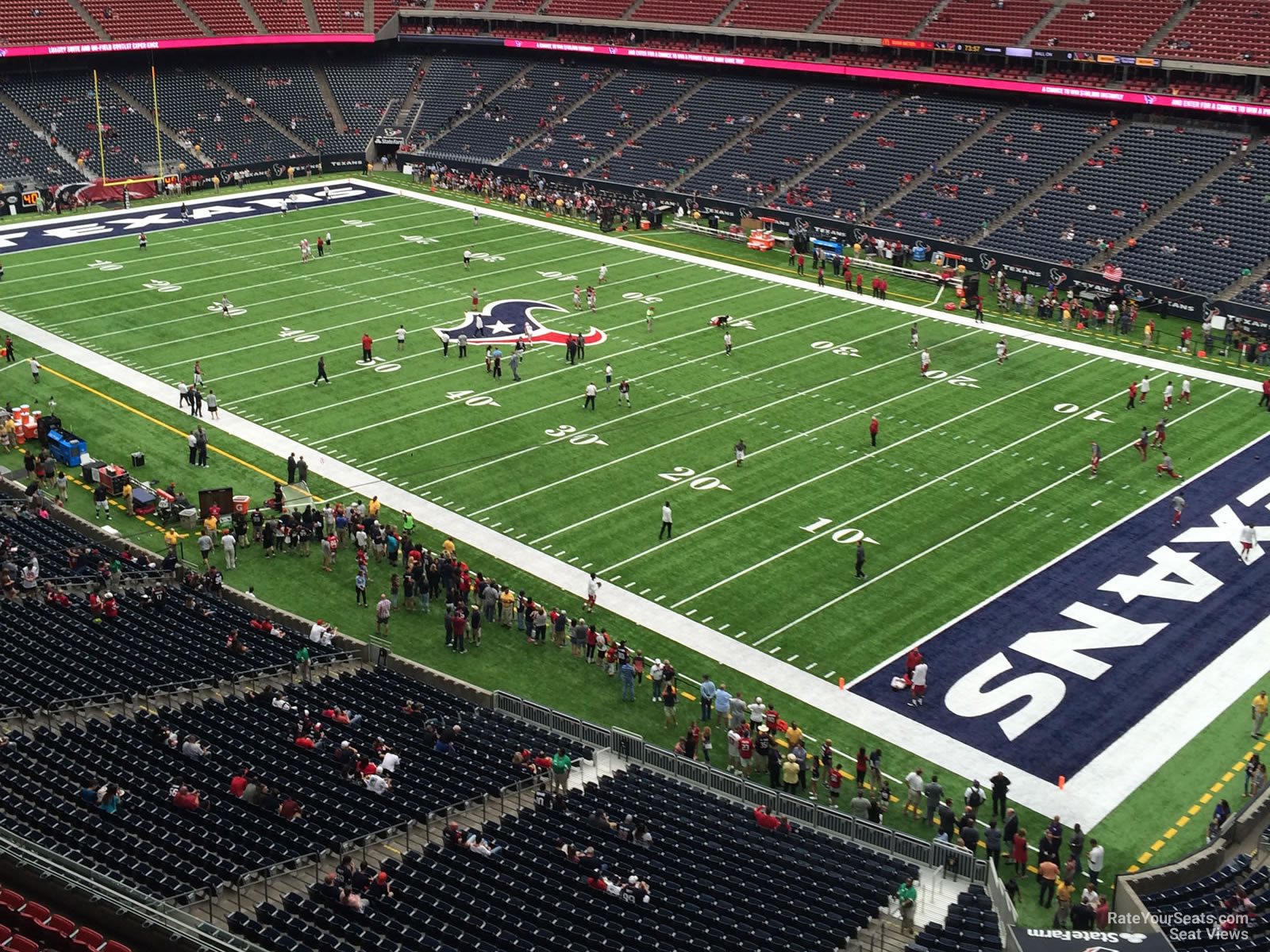 Houston Texans Seat View for NRG Stadium Section 502, Row H