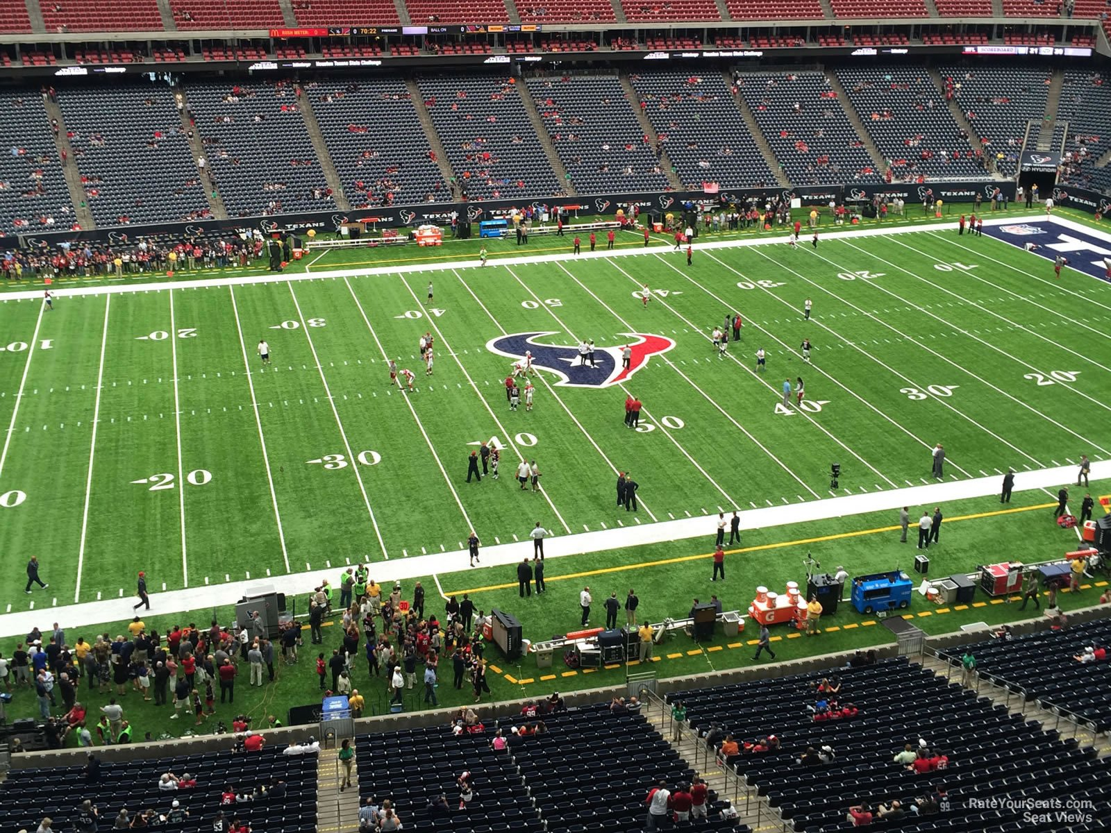 Houston Texans Seat View for NRG Stadium Section 510, Row H