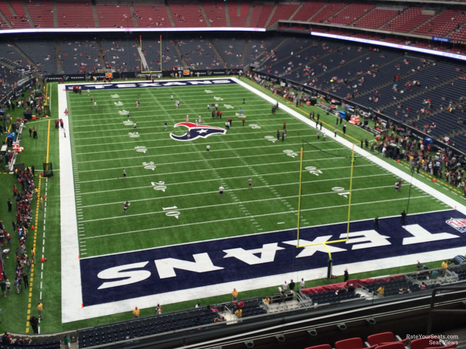 Houston Texans Seat View for NRG Stadium Section 523, Row H