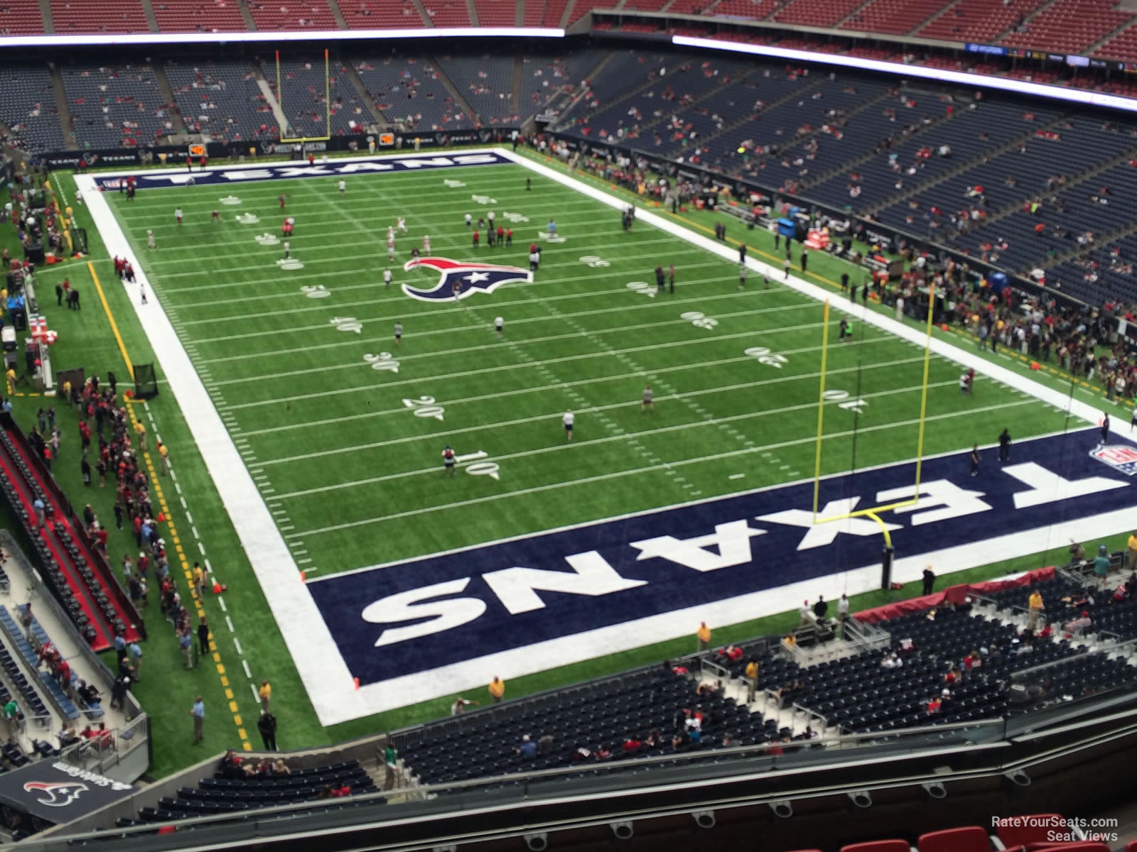 Houston Texans Seat View for NRG Stadium Section 524, Row H