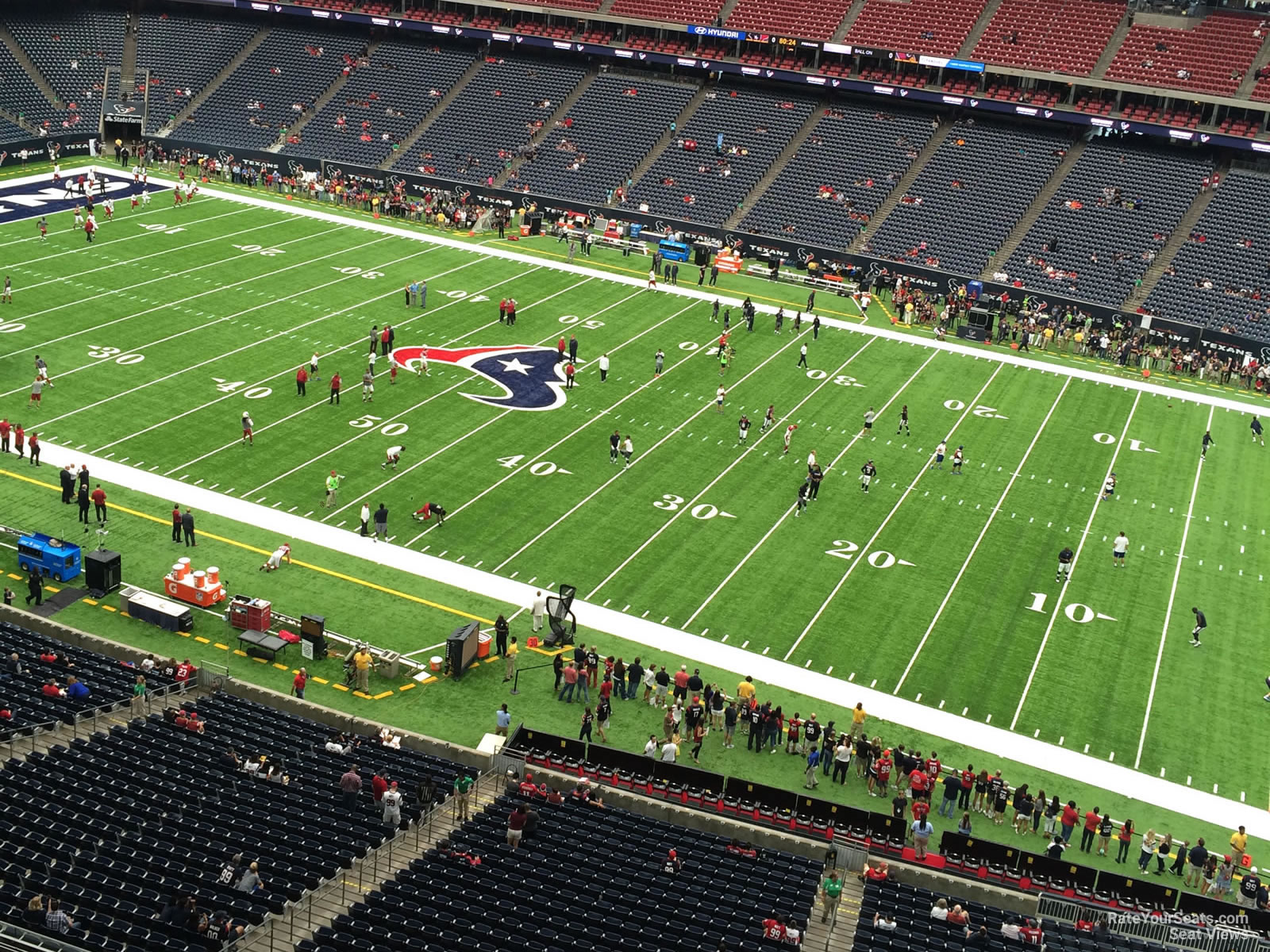 Houston Texans Seat View for NRG Stadium Section 530, Row H