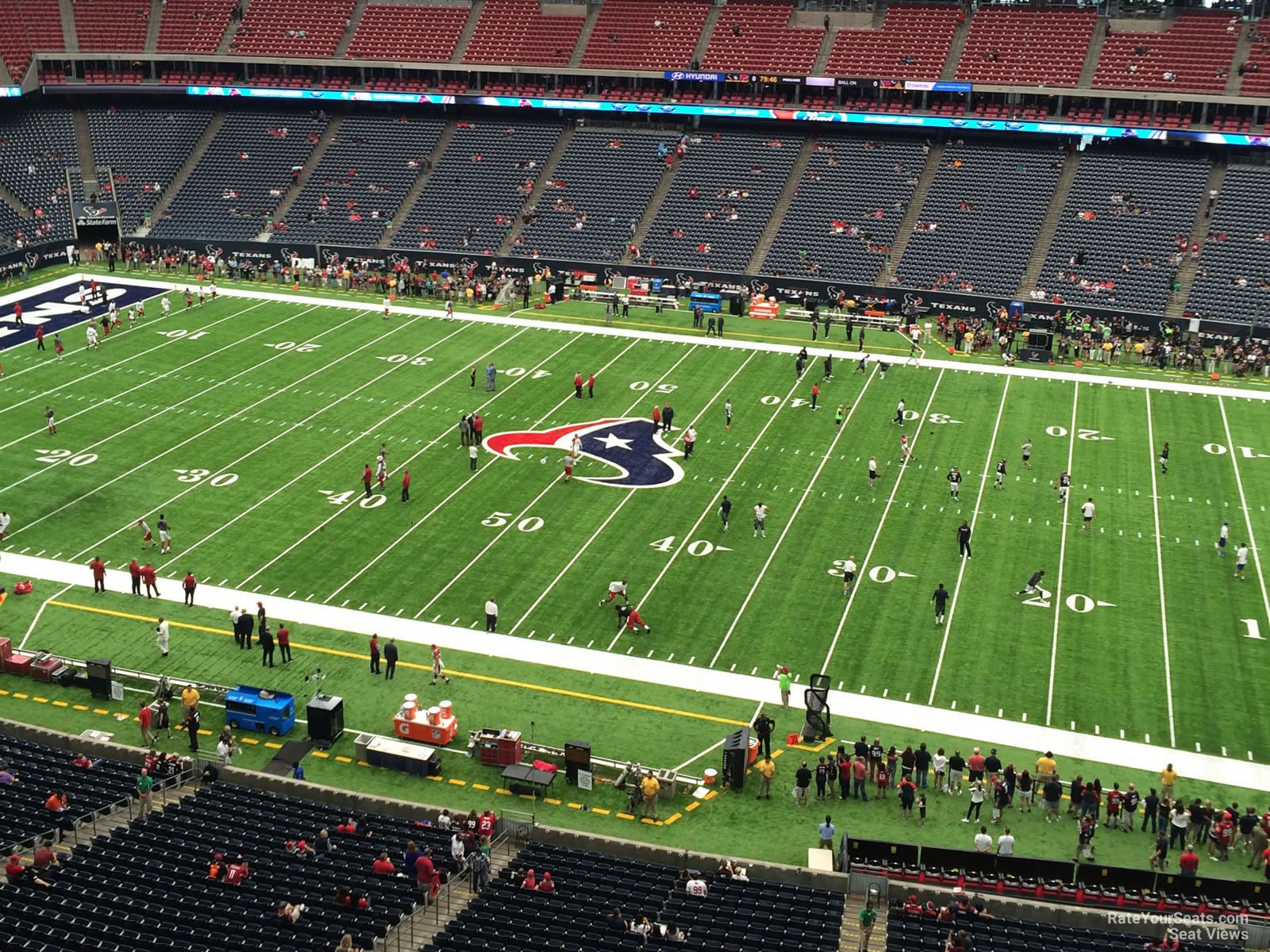 Houston Texans Seat View for NRG Stadium Section 532, Row H