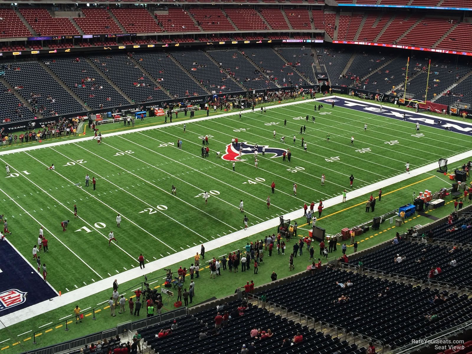 Houston Texans Seat View for NRG Stadium Section 539, Row H