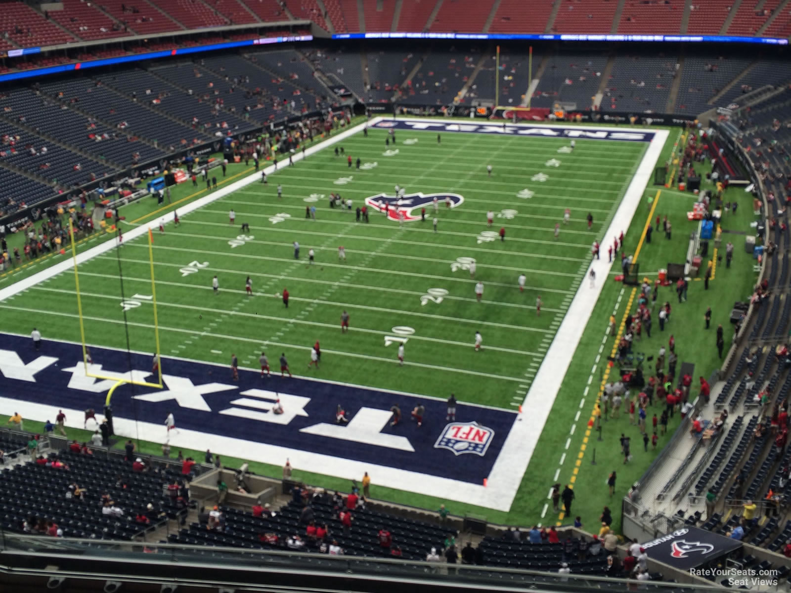 Houston Texans Seat View for NRG Stadium Section 544, Row H