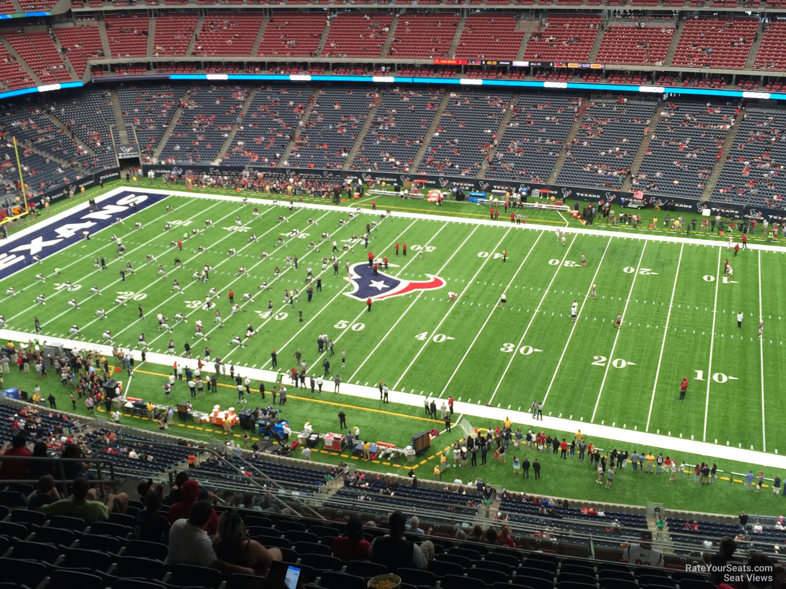 Houston Texans Seat View for NRG Stadium Section 606, Row P