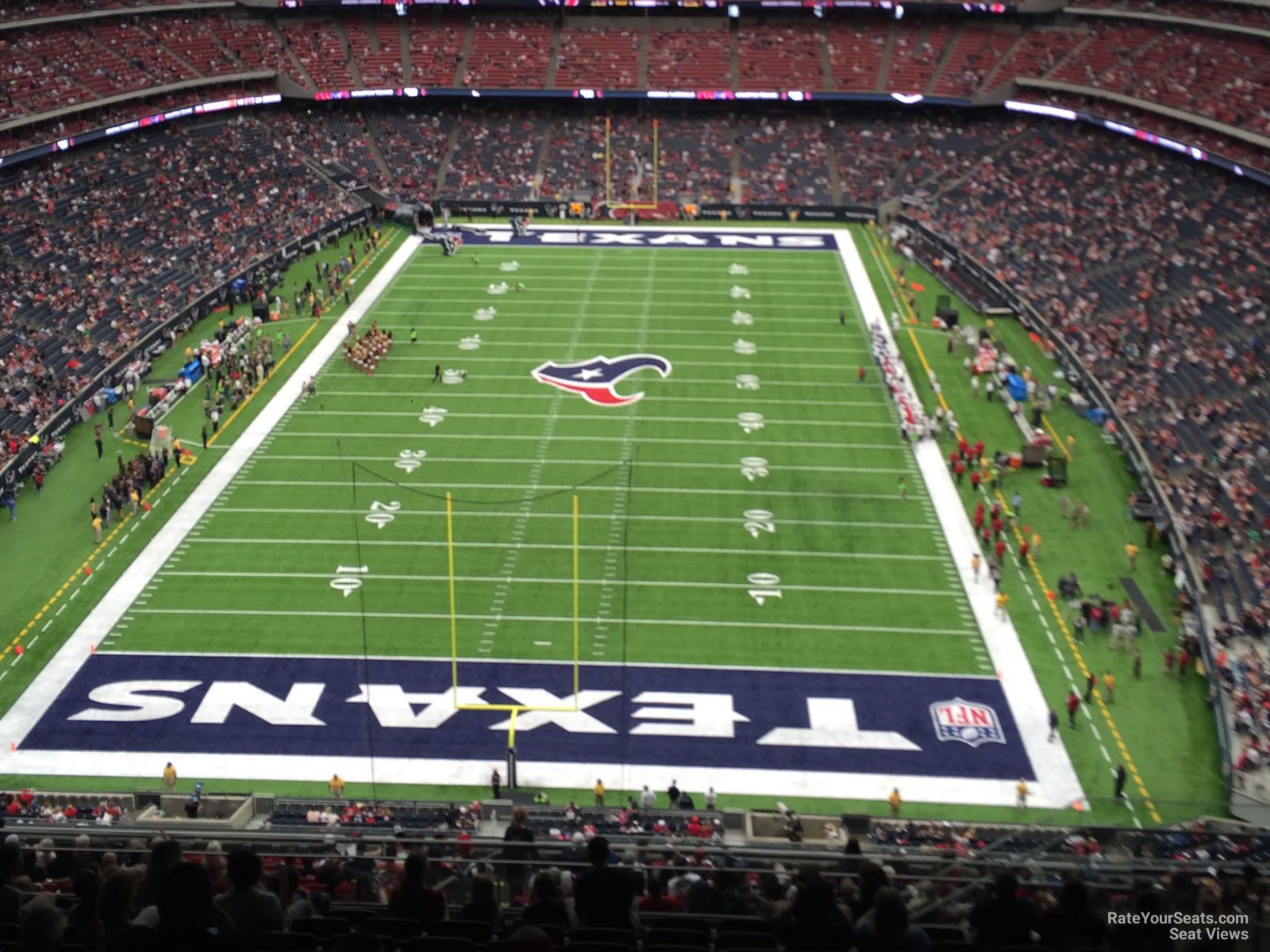 Houston Texans Seat View for NRG Stadium Section 647, Row P