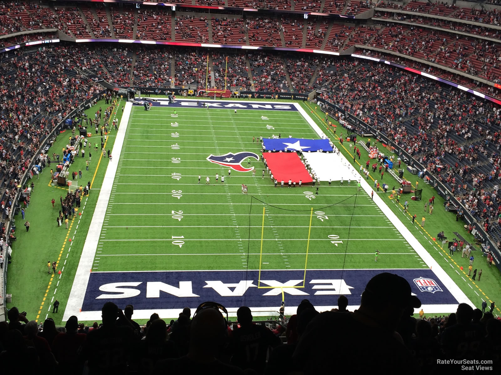 Houston Texans Seat View for NRG Stadium Section 649, Row P