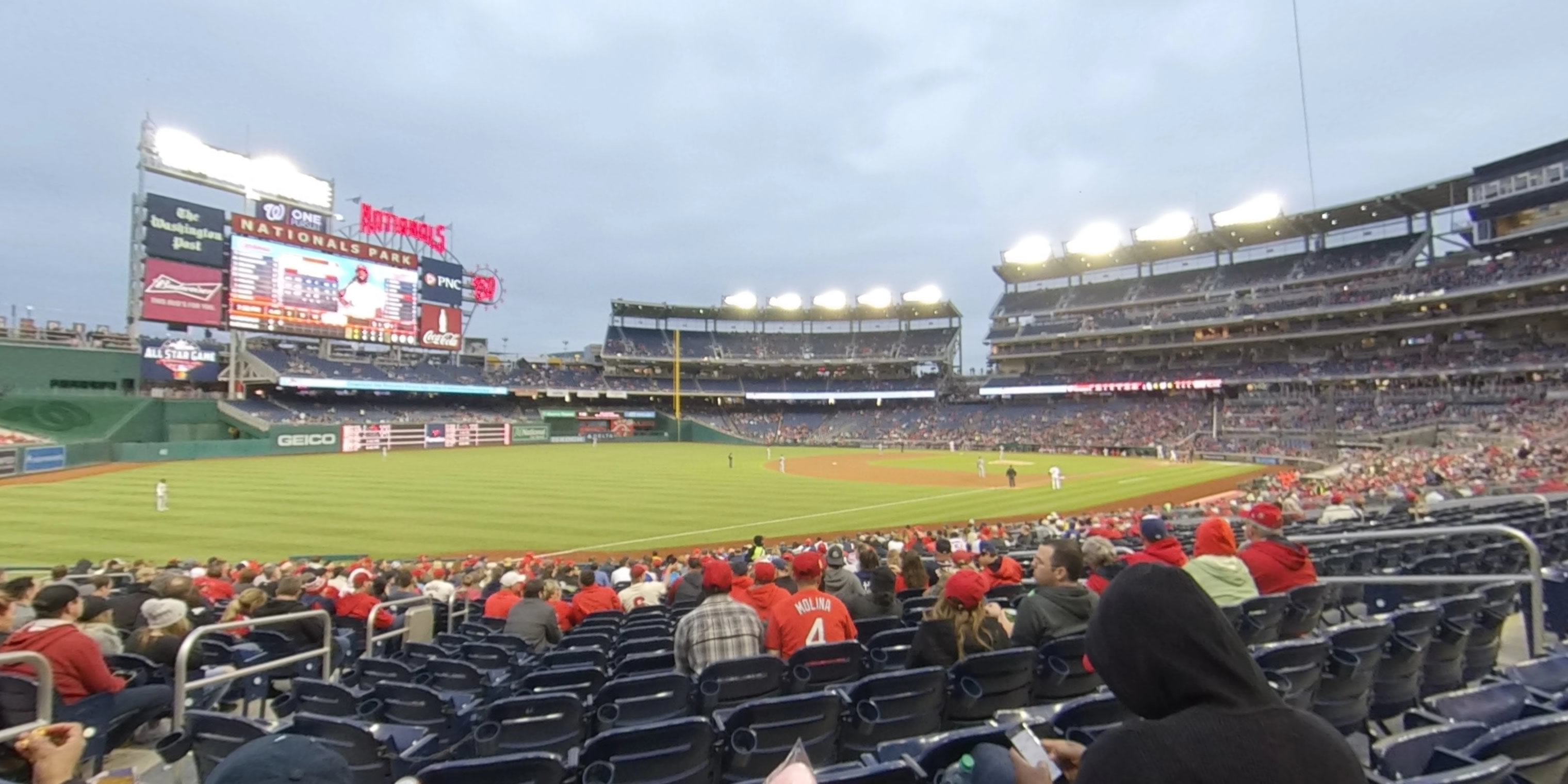 360° Photo From Nationals Park Section 109